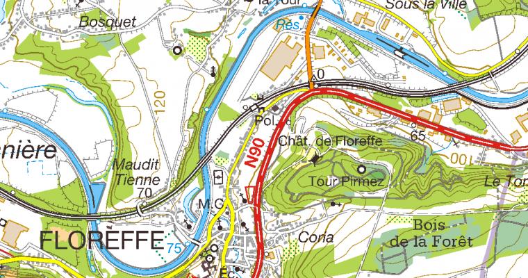 Standaard topografische kaarten